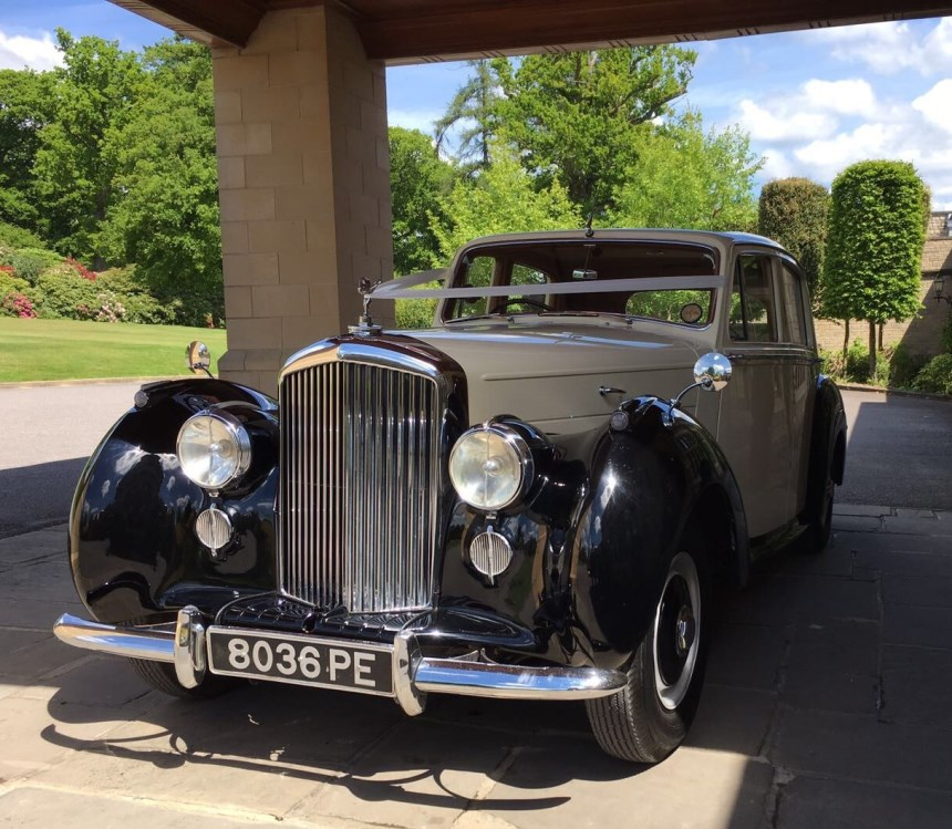 Bentley Wedding Car In East Grinstead